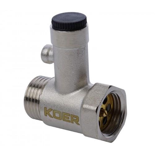 Предохранительный клапан для бойлера Koer