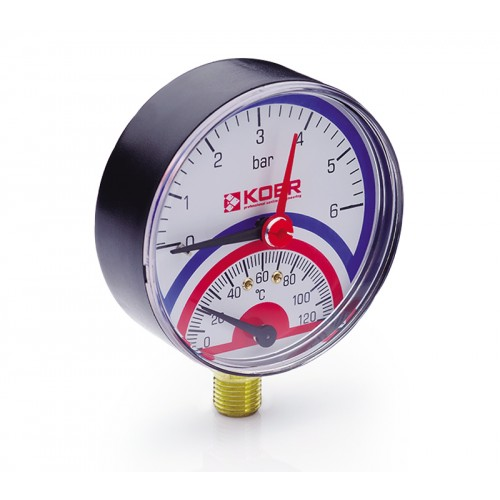 Термоманометр 801R Koer