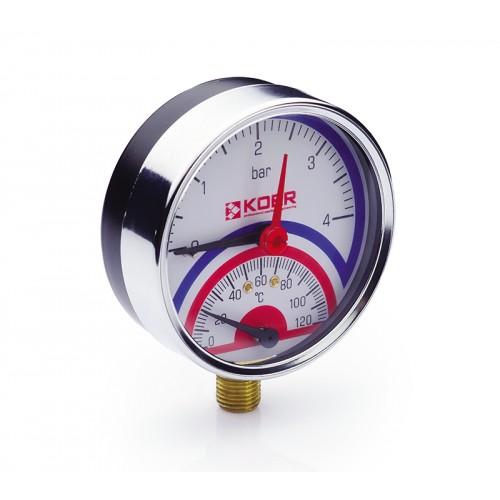 Термоманометр 821R Koer